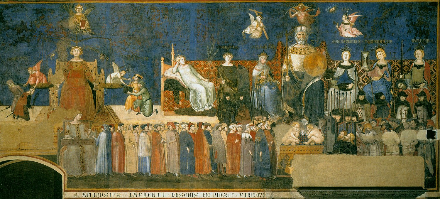 lorenzetti amb allegory of good government