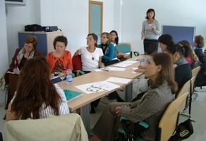 Mujeres participantes en el programa