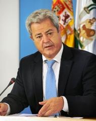 El consejero de Innovación, Ciencia y Empresa, Francisco Vallejo