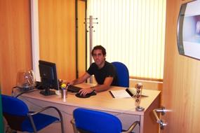 Christian Lara, promotor de la empresa premiada
