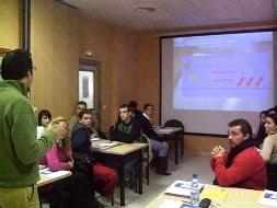 Un taller de formación impartido el ejercicio pasado