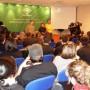 La delegada de Innovación en Cádiz en un momento de la jornada