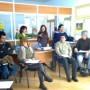 Durante el taller de autoempleo