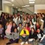 El grupo de los primeros alumnos que han acudido al Centro