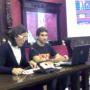 Promotores durante la presentación en el Ayuntamiento de La Zubia