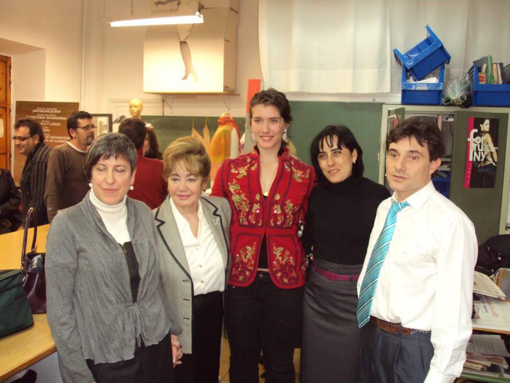 Algunas de las personalidades asistentes al encuentro