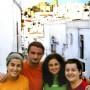 Ani, Laura, Cristina y Juan Pedro, Socios de Andariegos