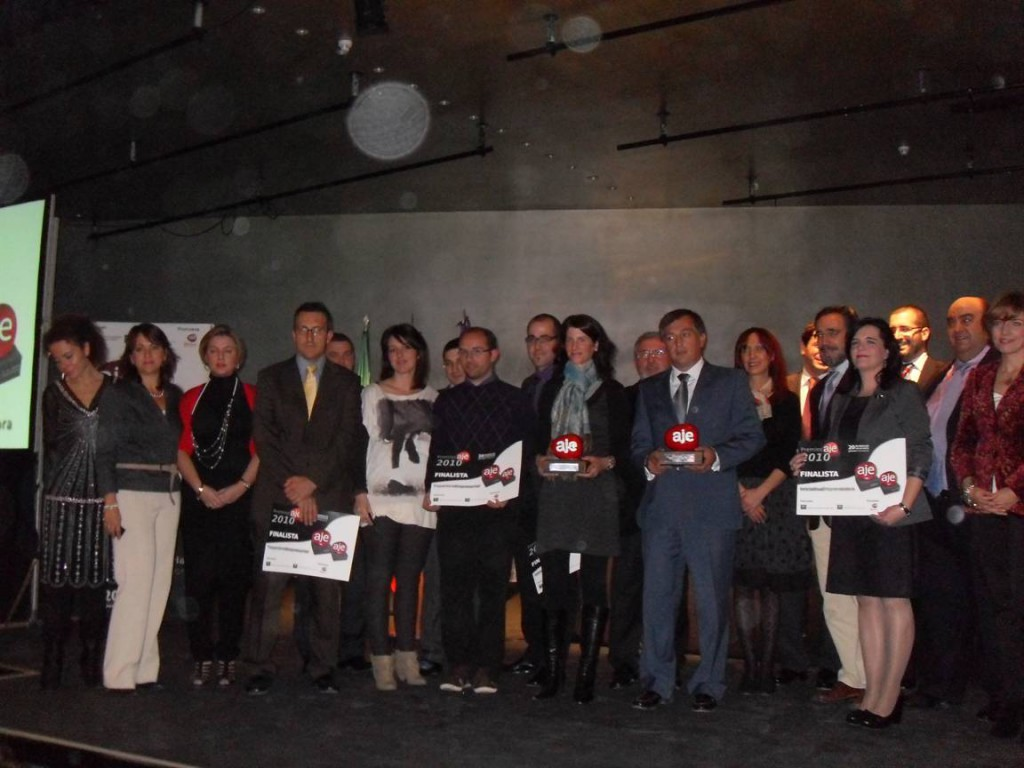 Premiados en los AJE Jaén 2010