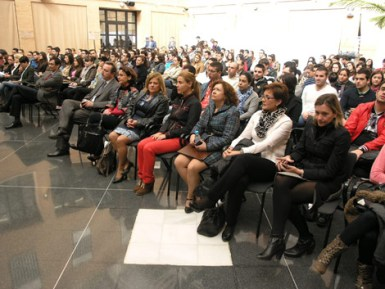 Recio en las jornadas de la Universidad de Almería
