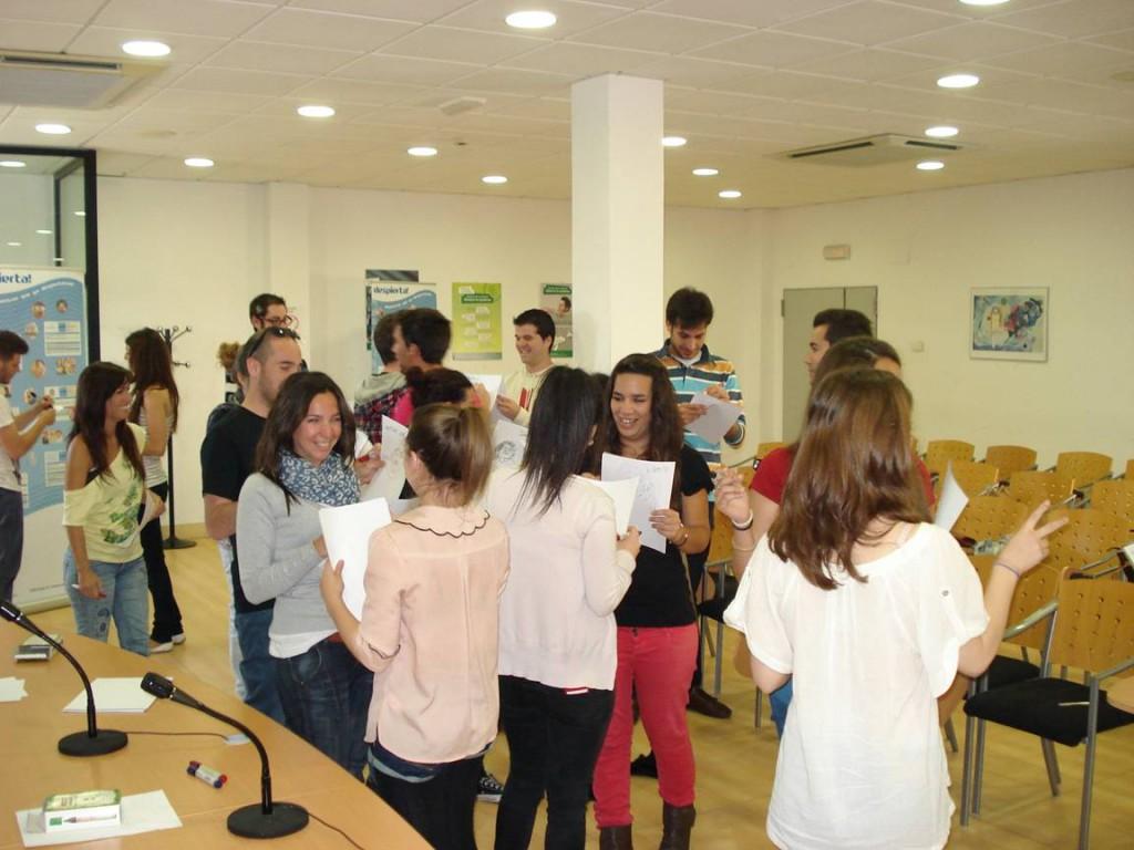 Alumnos participantes en el taller