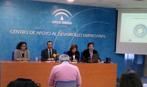 Durante la presentación en el CADE Cádiz