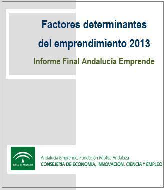 Factores determinantes del emprendimiento en Andalucía