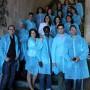Los integrantes de la Lanzadera de Empleo de Almería durante la visita a las instalaciones de Vicasol.