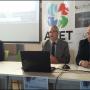 Gabriel Clavijo presentando los servicios de Andalucía Emprende