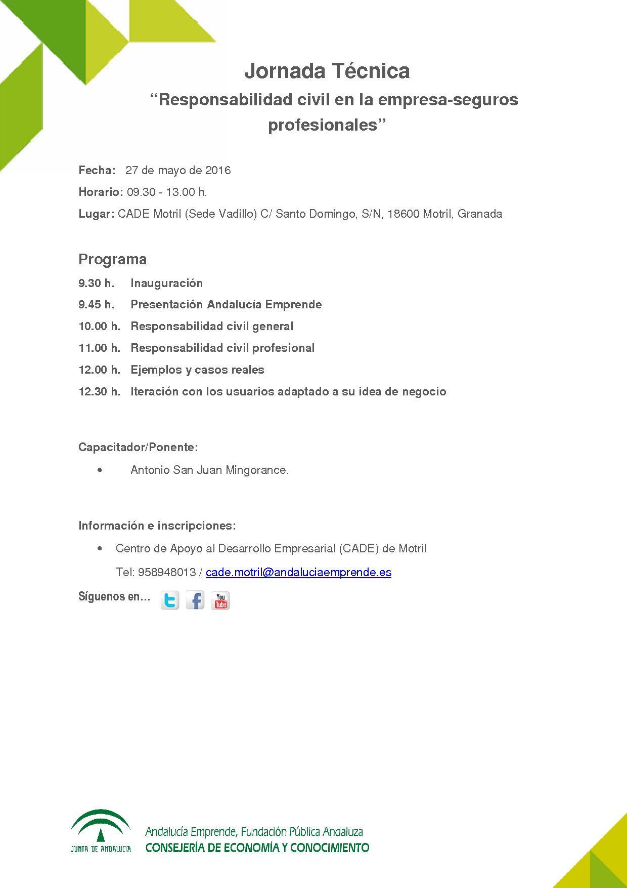 Jornada Responsabilidad Civil Empresas