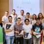 Ganadores de la tercera edición del concurso 'Ideas Factory'.