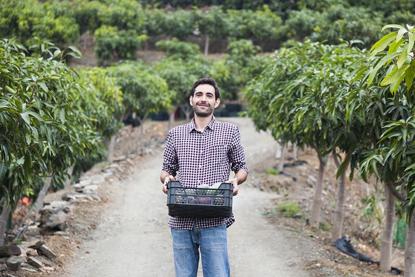 Borja Piedra García, promotor de Huerta Tropical