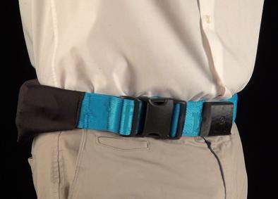 Prototipo II del cinturón para prevenir fracturas de cadera creado por Avirca Solutions