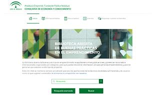 Biblioteca 'online' de buenas prácticas en el emprendimiento