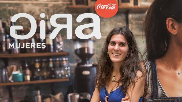 Berta Pérez, ganadora I ed. GIRAMujeres Coca-Cola y creadora del proyecto AguaViento