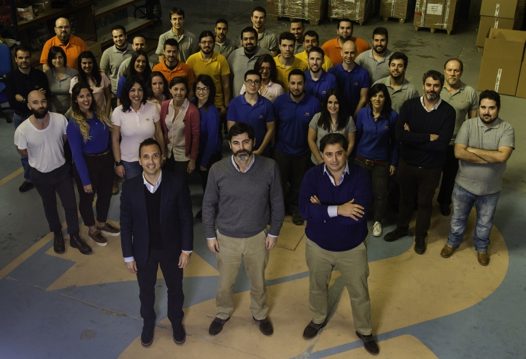 Equipo de Seabery Augmented Technology