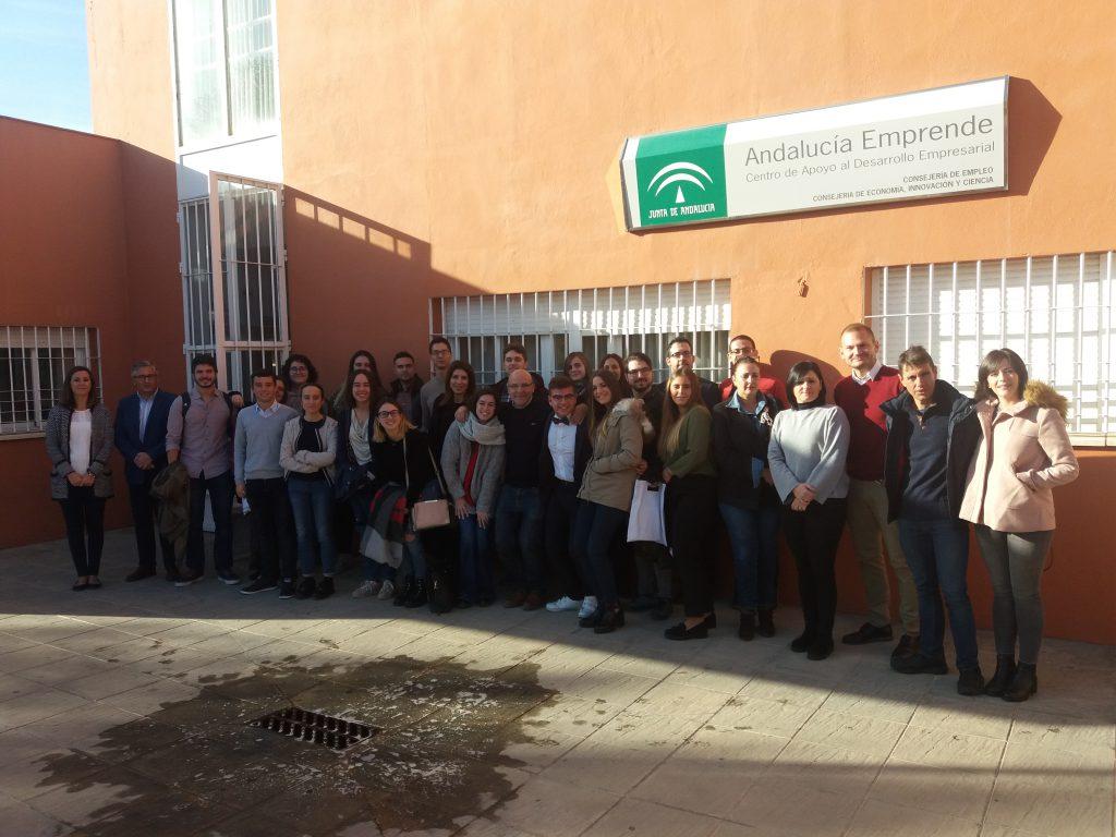 Participantes del programa Emprende 2.0 en Córdoba