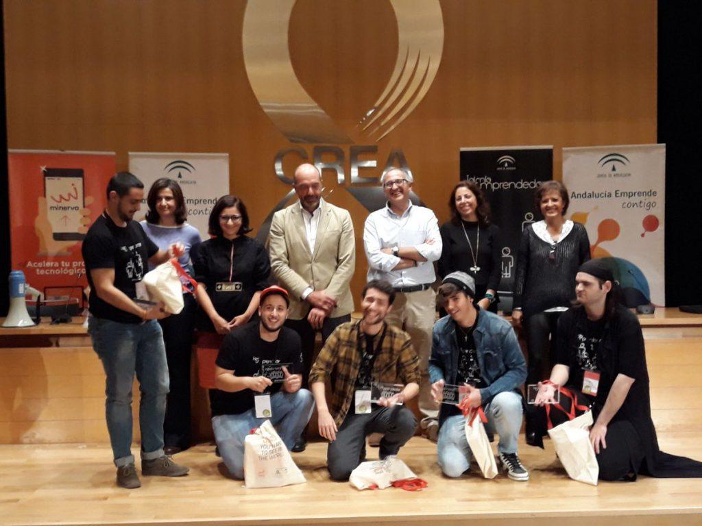 Estudiantes de la iniciativa WILD SAVE, ganadores del concurso en Sevilla