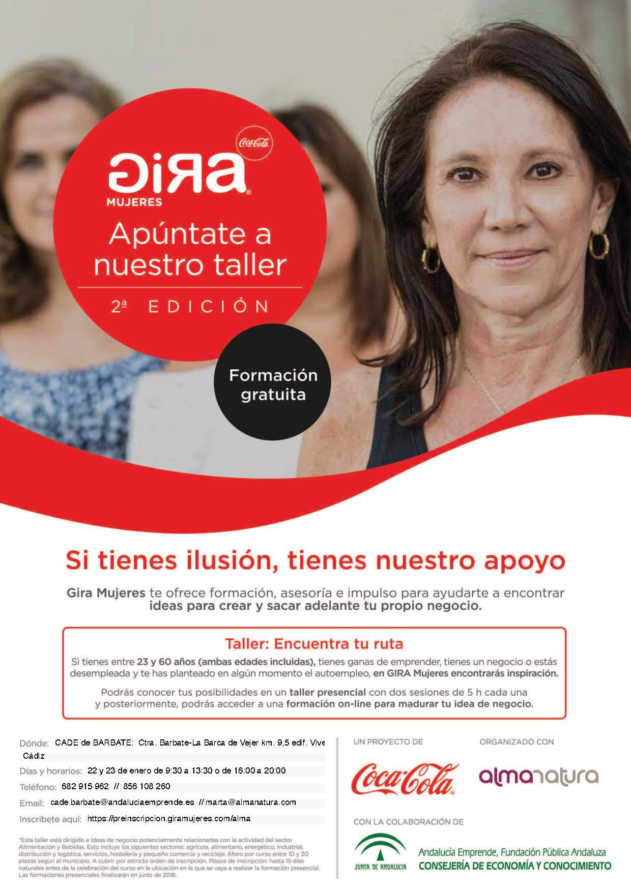 Cartel Gira Mujeres Coca Cola