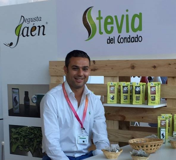 Andrés Jiménez, uno de los promotores de 'Stevia del Condado'