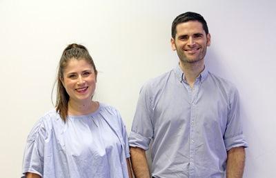 Los hermanos José María y María Sancho Peñate, fundadores de OpenTherapi