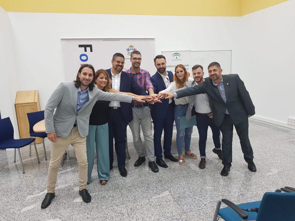 Emprendedores alojados en CADE Mijas (Málaga)