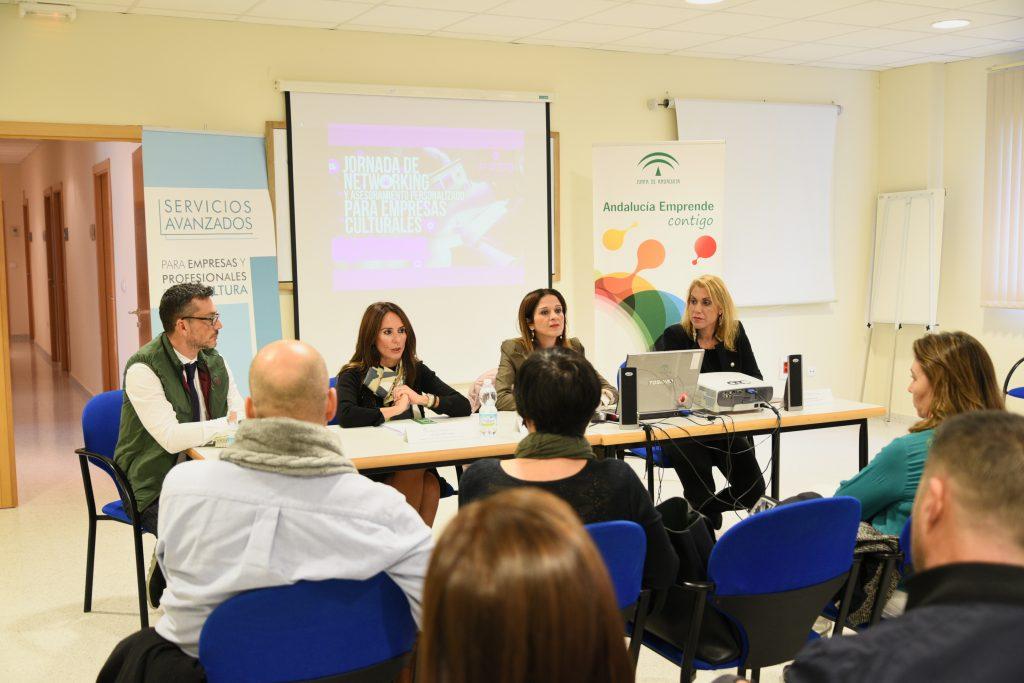 Autoridades durante el encuentro en Jerez