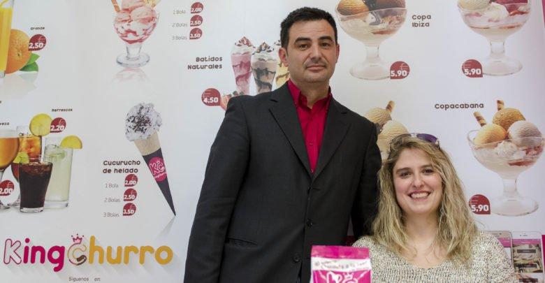 José Luis Romero y Sylvia Garrido, promotores de KingChurro