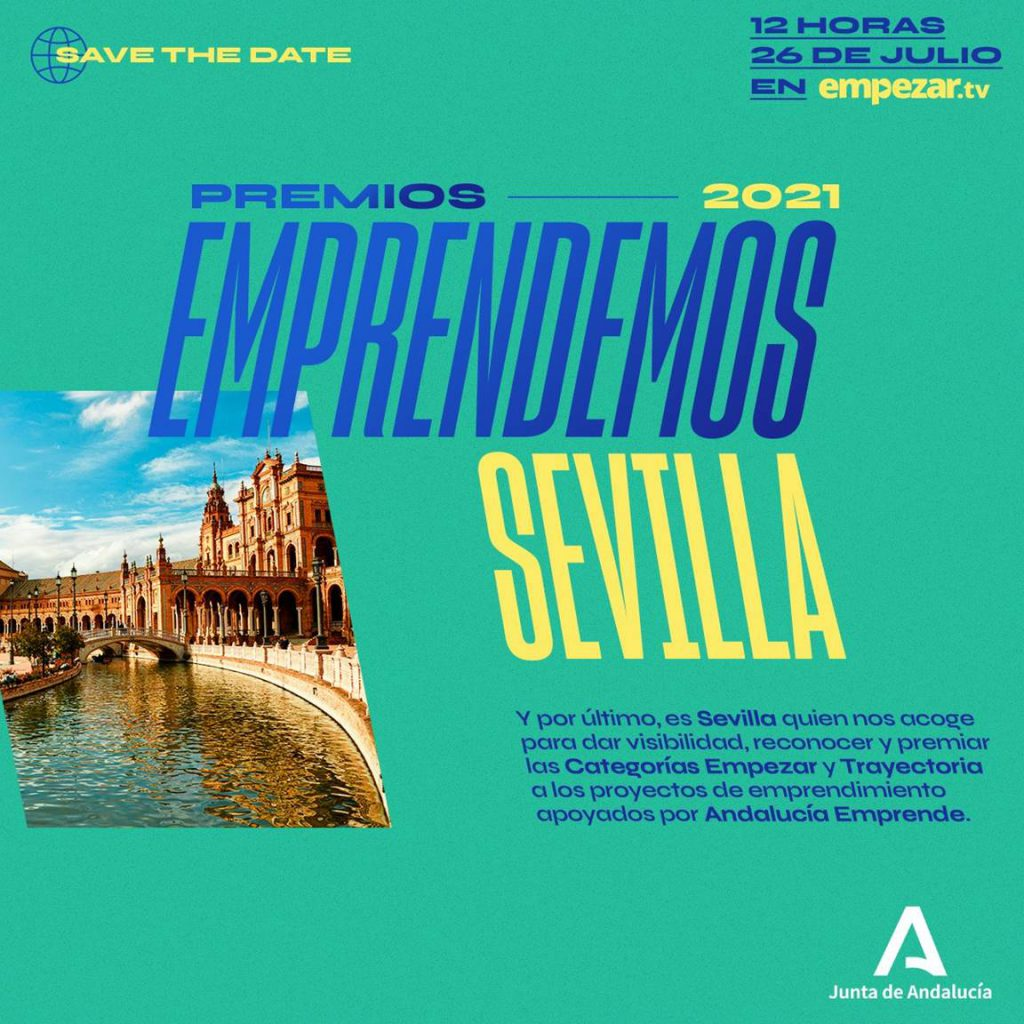 Gala Premios Emprendemos Sevilla 2021